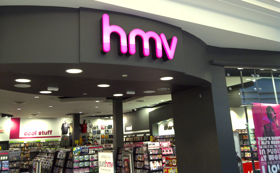 HMV @ Tesco Ireland