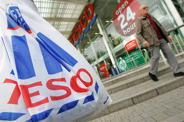 tesco ireland's favourite for the main shop each week